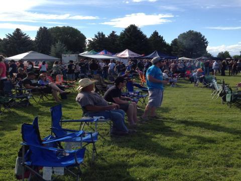 El público en Yellowstone Beer Fest