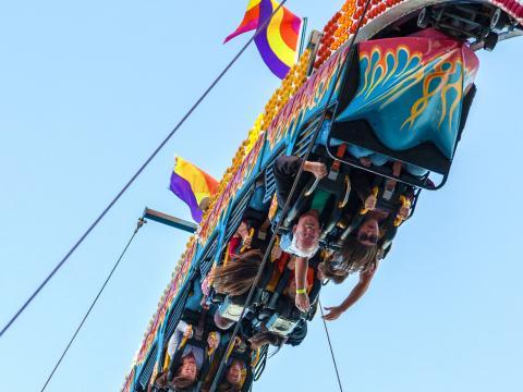 Otra perspectiva de la State Fair of Louisiana
