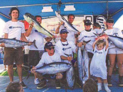Mostrando la pesca en Pompano Beach Fishing Rodeo