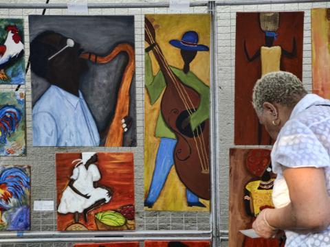 Pinturas a la venta en Magic City Art Connection