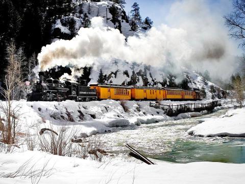 Excursiones a la montaña a bordo del tren Durango & Silverton Narrow Gauge Railroad