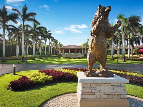 PGA National Golf Club, sede del torneo de golf Honda Classic, en Palm Beach Gardens, Florida