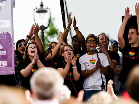 Celebrando la diversidad en Out! Raleigh Pride, Carolina del Norte